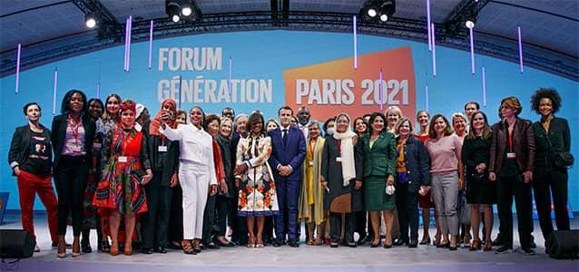 Le Forum Génération Égalité de l'ONU a clôturé ses travaux à Paris le 2 Juillet 2021